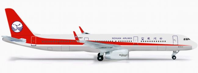 herpa 524964 A321 Sichuan Airlines A321 WINGS 1:500