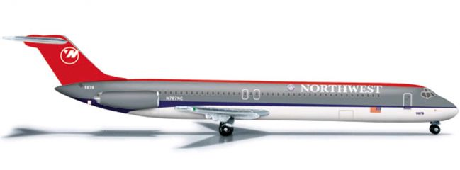 herpa 526333 DC-9-50 Northwest Airlines WINGS 1:500