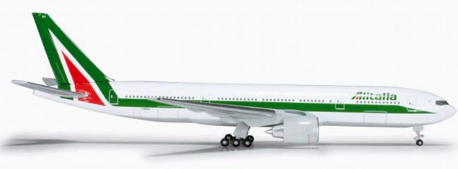 herpa 526258 B777-200 Alitalia WINGS 1:500