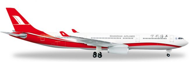 herpa 526586 A330-300 Shanghai Airlines | WINGS 1:500