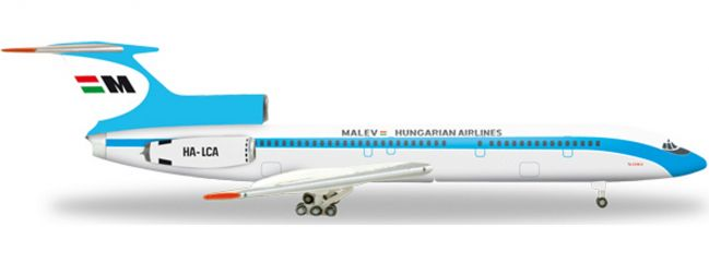 herpa 526685 TU-154B-2 Malev Hungarian Airlines | WINGS 1:500