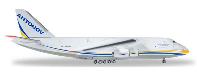 herpa 526777-002 Antonov AN-124 Antonov Airlines Flugzeugmodell 1:500
