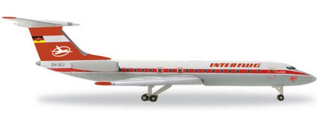 herpa 527095 TU-134A Interflug WINGS 1:500