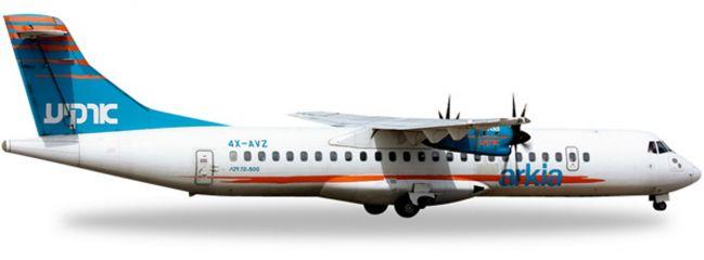 herpa 527262 ATR-72-500 Arkia Israel WINGS 1:500