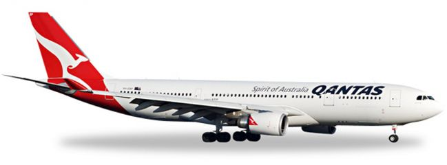 herpa 527316 A330-200 Qantas WINGS 1:500