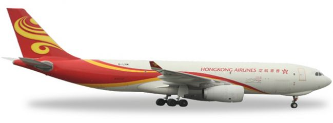 herpa 527378 A330-200F Hong Kong Airlines Cargo WINGS 1:500