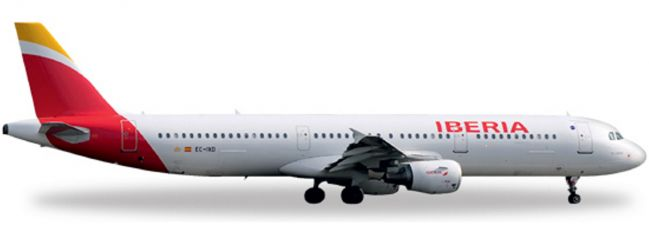 herpa 527439 A321 Iberia (new colors) WINGS 1:500
