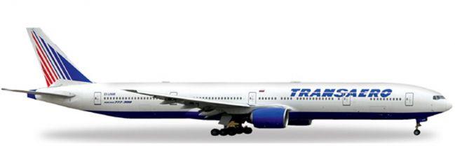 herpa 527507 B777-300 Transaero Airlines WINGS 1:500