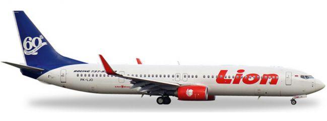 herpa 527910 B737-900ER Lion Air 60th B737 | WINGS 1:500