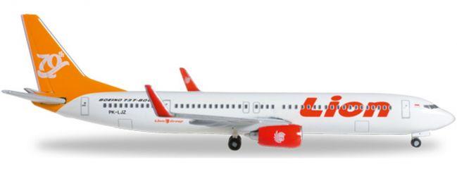 herpa 527989 B737-900ER Lion Air 70th B737 | WINGS 1:500