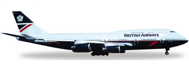 herpa 528030 B747-400 British Airways | WINGS 1:500
