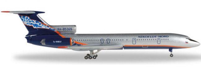 herpa 528764 TU-154B-2 Aeroflot Nord   WINGS 1:500