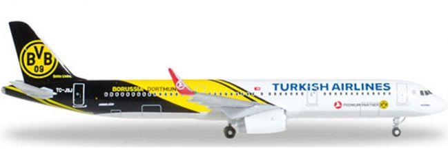 ausverkauft | herpa 528825 A321 Turkish Air BVB Dortmund | WINGS 1:500