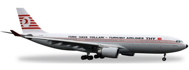 herpa 529013 A330-200 Turkish Airlines Retro | WINGS 1:500