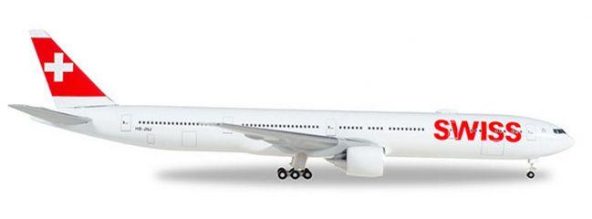 herpa 529136-002 Boeing 777-300ER Swiss International Air Lines Flugzeugmodell 1:500