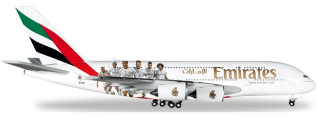 herpa 529242 Emirates A380 Real Madrid | WINGS 1:500