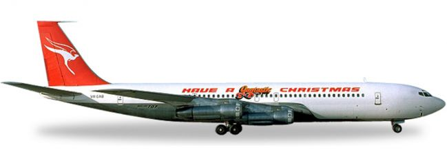 herpa 529488 B707-300C Qantas Christmas | WINGS 1:500
