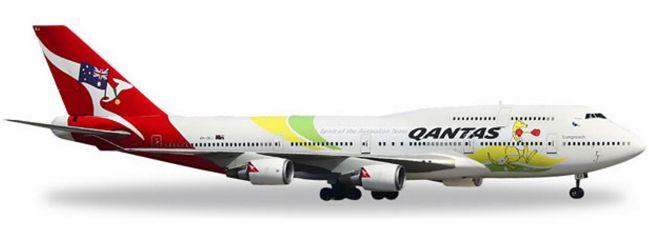 herpa 529914 B747-400 Qantas Rio 2016 | WINGS 1:500