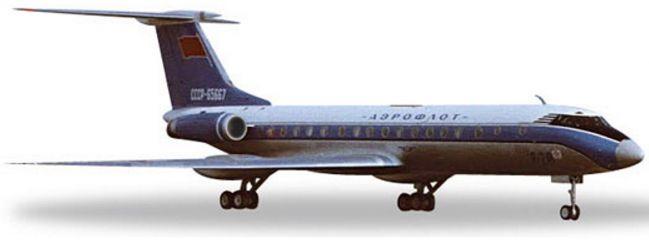 herpa 529938 TU-134A Aeroflot Bluebird | WINGS 1:500