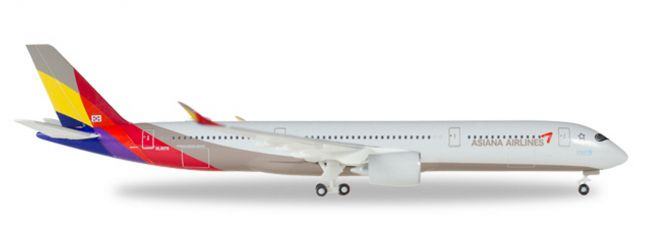 ausverkauft | herpa WINGS 529983 Airbus A350-900 XWB Asiana Airlines Flugzeugmodell 1:500