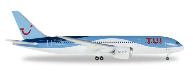 herpa WINGS 530163 Boeing 787-8 Dreamliner TUI Airlines Belgium Daimond Flugzeugmodell 1:500
