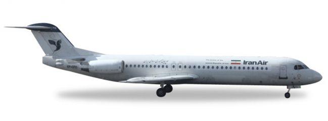 herpa WINGS 530224 Fokker 100 Iran Air Flugzeugmodell 1:500