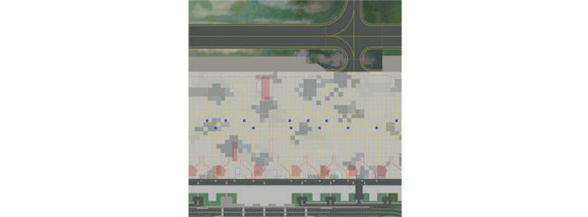herpa WINGS 530255 Airport Ground Plates - Set1 Passenger Terminal Zubehör Flughafen 1:500
