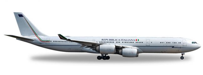herpa WINGS 530385 Airbus A340-500 Italian Air Force I-TALY Flugzeugmodell 1:500