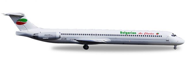 herpa WINGS 530392 McDonnell Douglas MD-82 Bulgarian Air Charter Flugzeugmodell 1:500