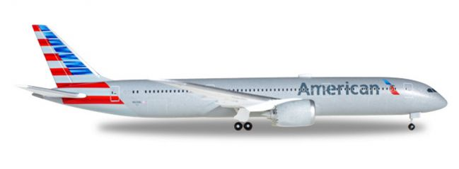 herpa WINGS 530422 Boeing 787-9 Dreamliner American Airlines Flugzeugmodell 1:500