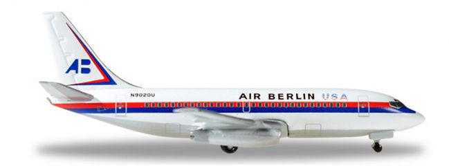 herpa WINGS 530453 Boeing 737-200 Air Berlin USA Flugzeugmodell 1:500