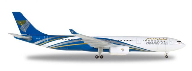herpa WINGS 530484 Airbus A330-300 Oman Air Flugzeugmodell 1:500