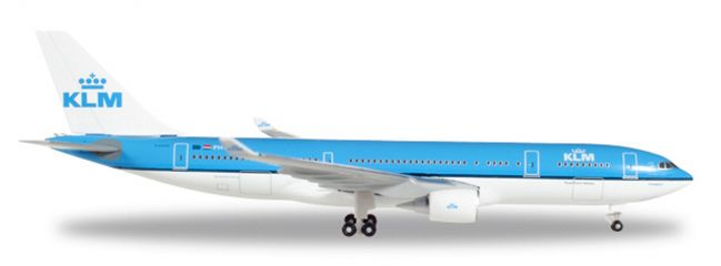 herpa WINGS 530552 Airbus A330-200 KLM Piazza San Marco Venezia Flugzeugmodell 1:500