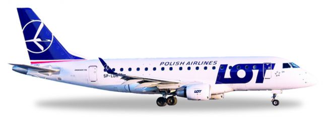 herpa WINGS 530583 Embraer E170 LOT Polish Airlines Flugzeugmodell 1:500