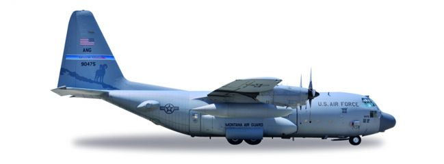 herpa 530651 Lockheed C-130 Hercules USAF High Rollers Reno Air Base Flugzeugmodell 1:500