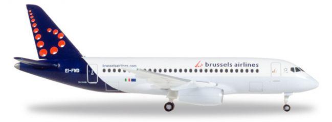 herpa WINGS 530774 Sukhoi Superjet SSJ-100 Brussels Airlines Flugzeugmodell 1:500