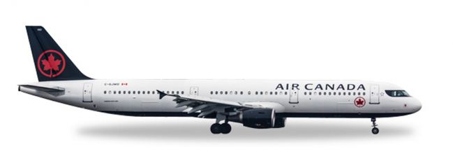 herpa WINGS 530804 Airbus A321 Air Canada Flugzeugmodell 1:500