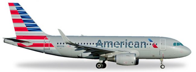 herpa WINGS 530835 Airbus A319 American Airlines Flugzeugmodell 1:500
