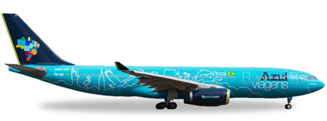 herpa 530927 Azul Airbus A330-200 Azul Viagens | WINGS 1:500