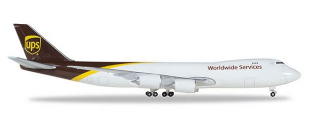 herpa 531023-001 Boeing 747-8F UPS Airlines Flugzeugmodell 1:500
