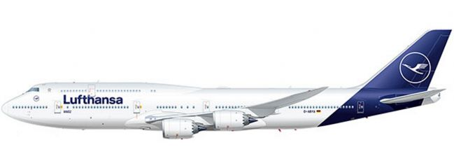 herpa 531283 Lufthansa Boeing 747-8 Intercontinental new colors | WINGS 1:500