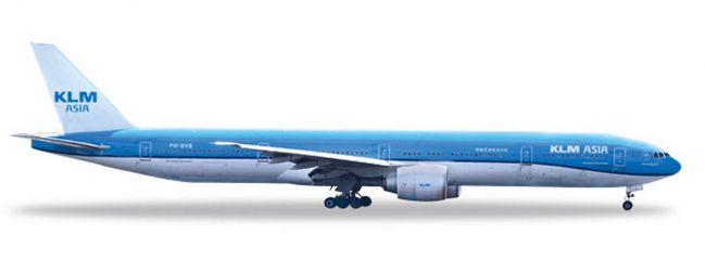 herpa 531658 Boeing 777-300ER KLM Asia Fulufjället National Park Flugzeugmodell 1:500
