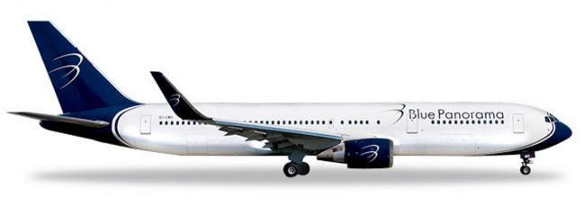 herpa 531559 Boeing 767-300 Blue Panorama Citta di Milano Flugzeugmodell 1:500