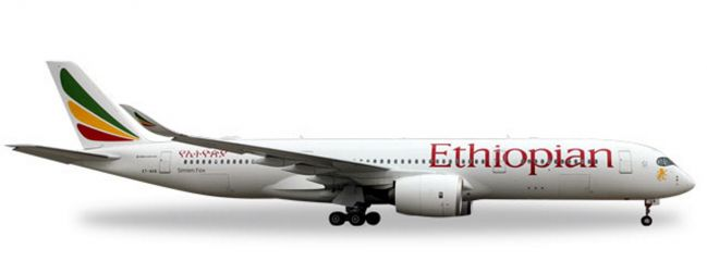 herpa 531610 Airbus A350-900 Ethiopian Airlines Flugzeugmodell 1:500
