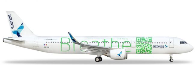herpa 531634 Airbus A321neo Azores Airlines Flugzeugmodell 1:500