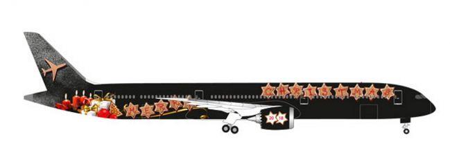 herpa 531740 Boeing 787-10 Dreamliner Christmas 2018 Flugzeugmodell 1:500