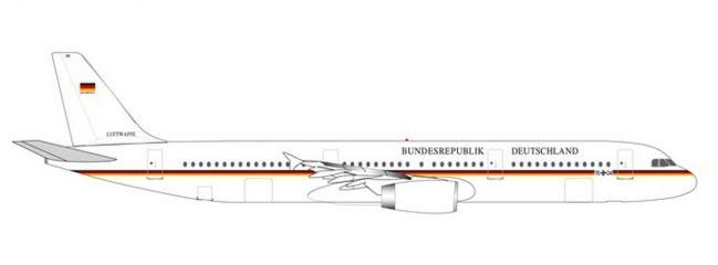 herpa 531986 Airbus A321 Luftwaffe Flugbereitschaft Flugzeugmodell 1:500