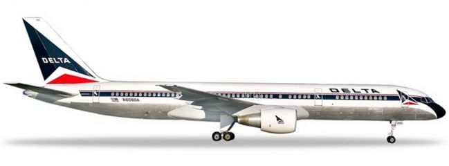 herpa 532600 Boeing 757-200 Delta Air Lines Flugzeugmodell 1:500