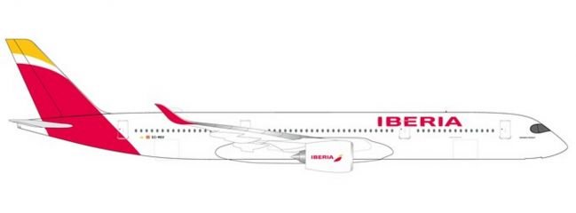 herpa 532617 Airbus A350-900 Iberia Flugzeugmodell 1:500