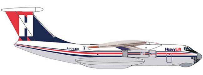 herpa 532785 HeavyLift Cargo Airlines Ilyushin IL-76   WINGS 1:500